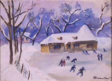 Little House on the rink, 1931