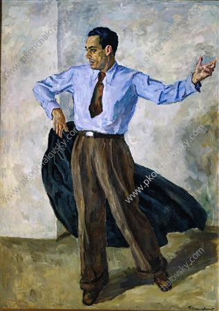 Portrait of Manuel Pavon, 1940