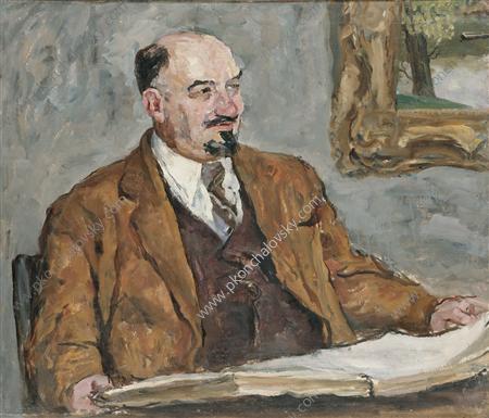Portrait of Professor N. P. Remizov, 1955 - Pyotr Konchalovsky