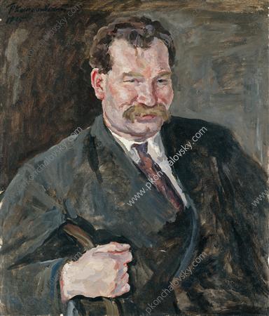 Portrait of V. F. Sakharov, 1935