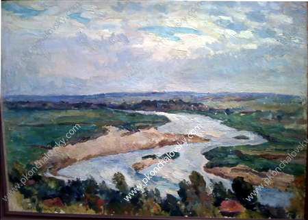 The river in the morning, 1923