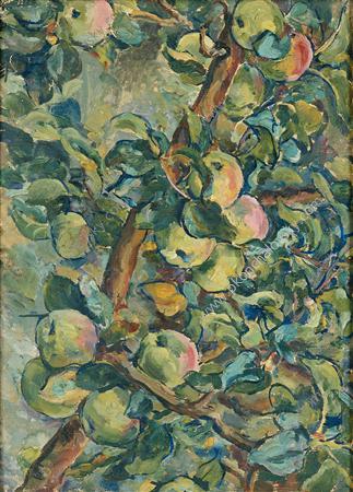 Twilight. Apples., 1930