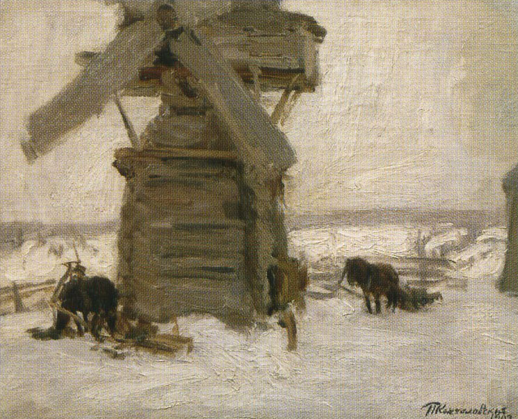 Winter. The Mill on the Ker-island., 1903
