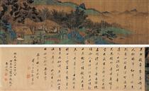 楼台殿阁图 - Qian Xuan