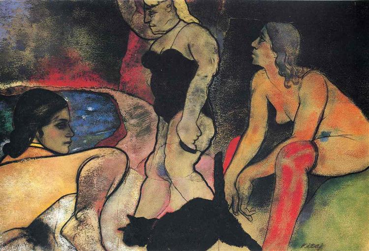 The Rise of Fascism - R. B. Kitaj