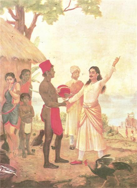 Bheeshma oath - Раджа Раві Варма