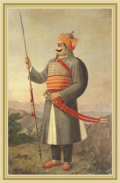 Maharana Prathap Singh - Raja Ravi Varma