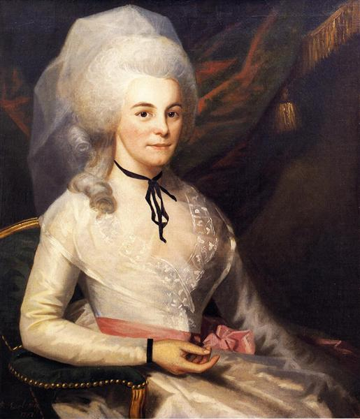 Mrs. Alexander Hamilton, 1787 - Ralph Earl