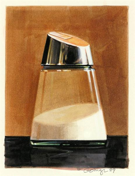 Sugar Dispenser 1989, 1989 - Ralph Goings