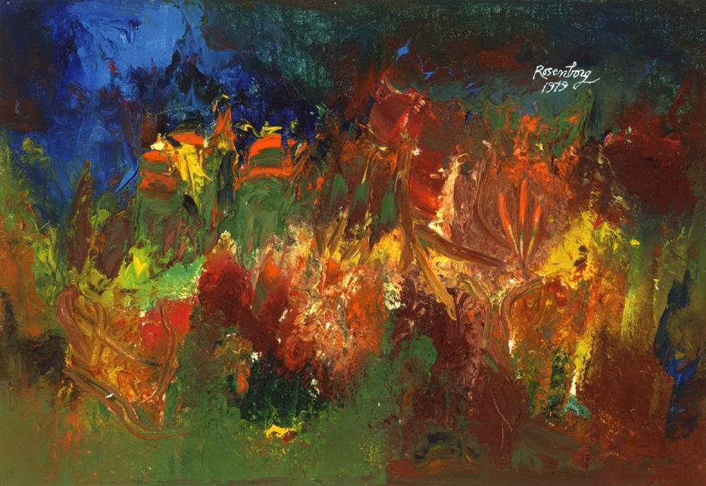 American Landscape: Garden of Flowers, 1979
