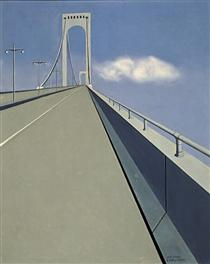 Whitestone Bridge - Ralston Crawford