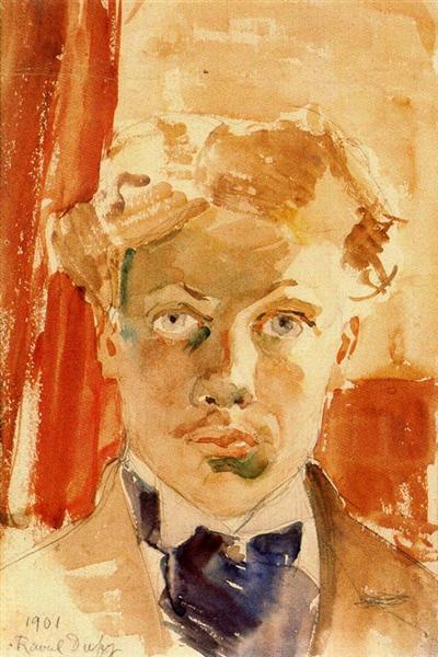 Self-Portrait, 1901 - Raoul Dufy