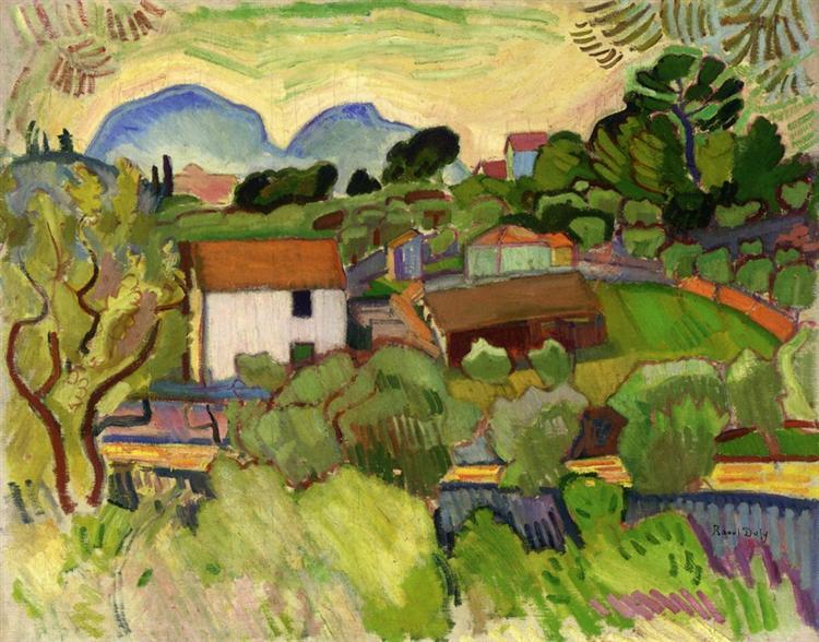 The River, c.1905 - Raoul Dufy