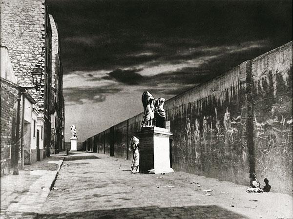 La Rue derrière la gare, 1936 - Raoul Ubac