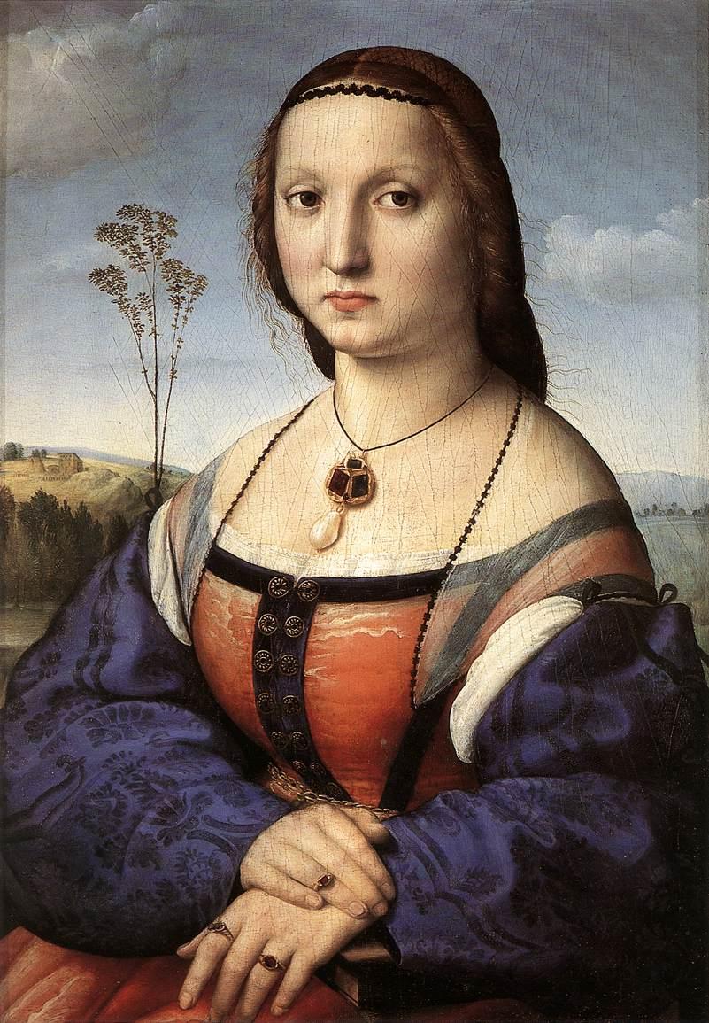 Portrait of Maddalena Doni, 1506
