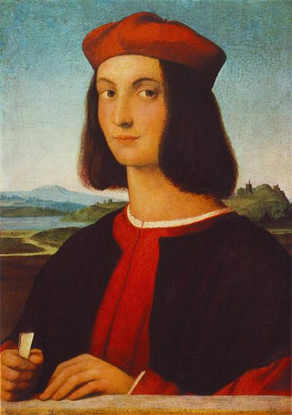 Portrait of the Young Pietro Bembo, 1504 - Raphael