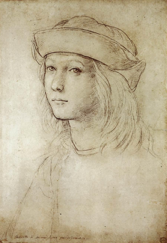 Self Portrait, c.1499 - Raphael - WikiArt.org