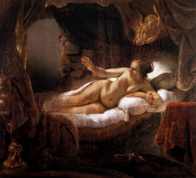 Danae - Rembrandt