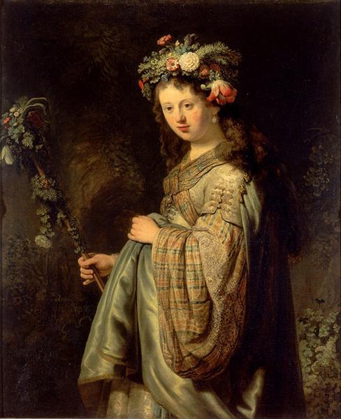 Flora, 1634 - Rembrandt