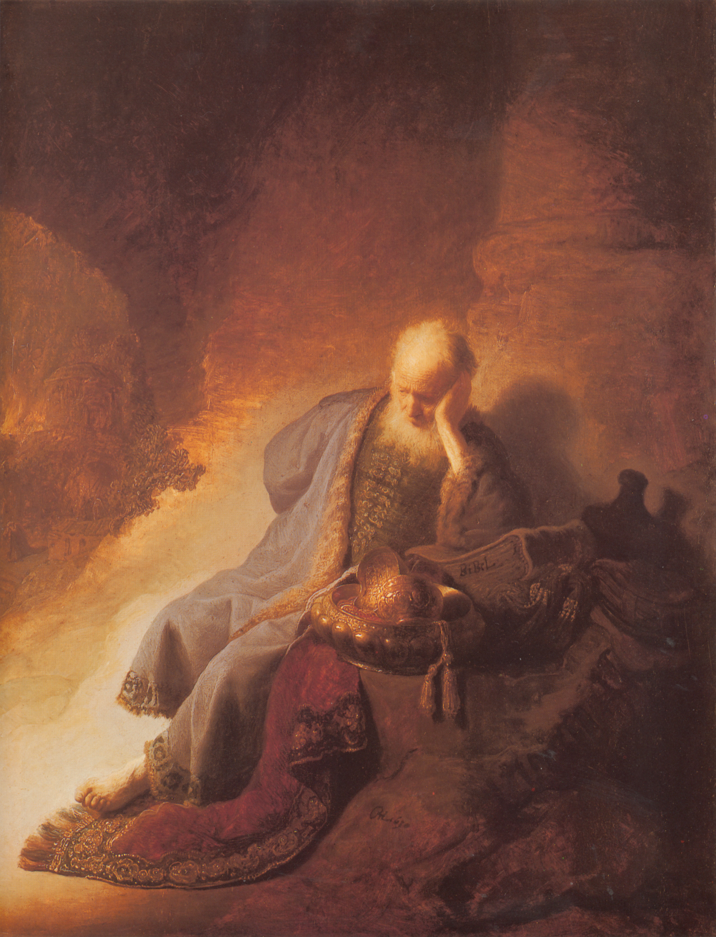 Rembrandt S Painting Of Jeremiah The Prophet