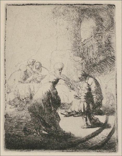 Jesus Disputing with the Doctors, 1630 - Rembrandt