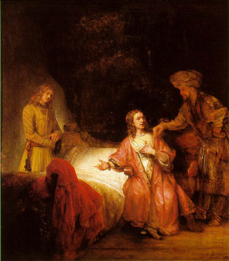 Joseph Accused By Potiphar S Wife Painting