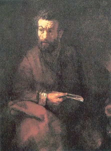 St. Bartholomew, 1657 - Rembrandt