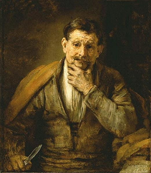 The Apostle Bartholomew, 1661 - Rembrandt