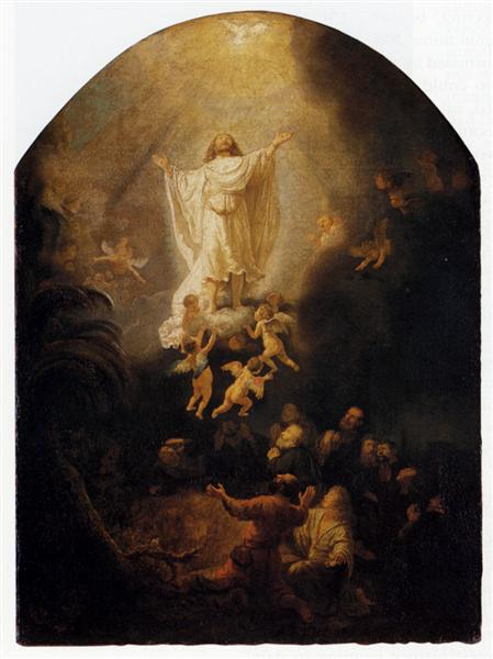 The Ascension Of Christ, 1636 - Rembrandt