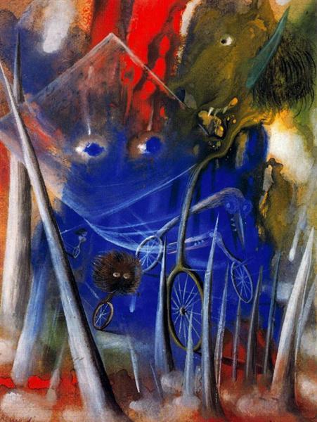 Weird life, 1945 - Remedios Varo