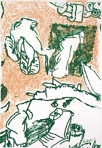 Composition, 1963 - Рене Бертоло