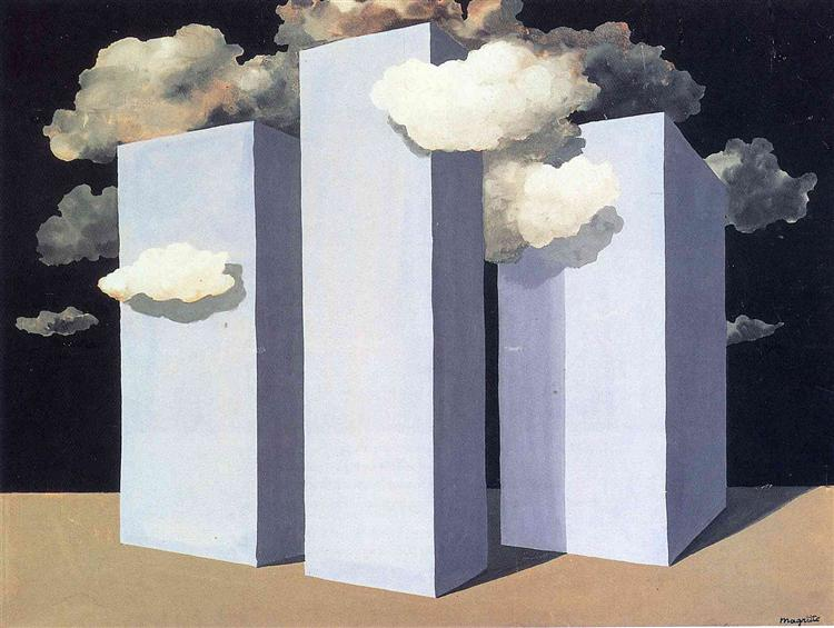 A storm, 1932 - Rene Magritte