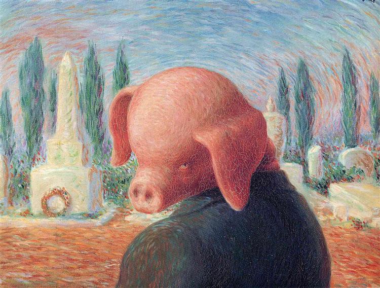 A stroke of luck, 1948 - Rene Magritte