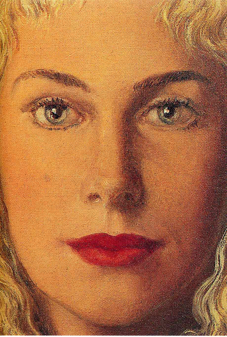 Anne-Marie Crowet, 1956 - Rene Magritte - WikiArt.org