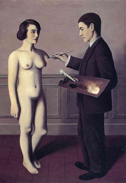 Attempting the Impossible, 1928 - Rene Magritte