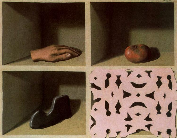 One night museum, 1927 - Rene Magritte