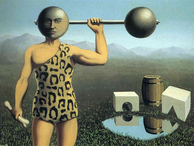 Perpetual motion, 1935 - Rene Magritte