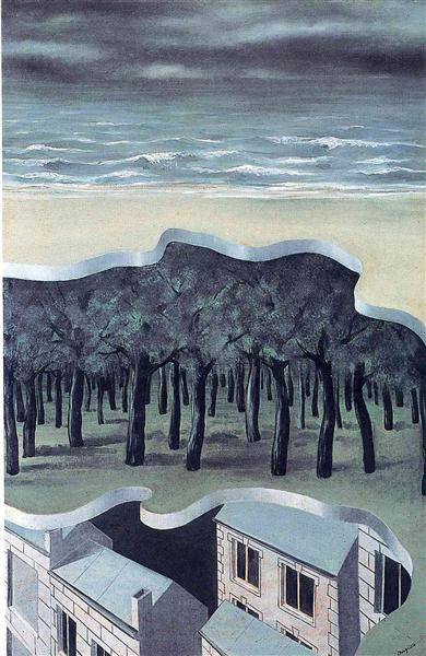 Popular panorama, 1926 - Rene Magritte