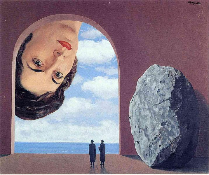 Portrait of Stephy Langui, 1961 - Rene Magritte - WikiArt.org