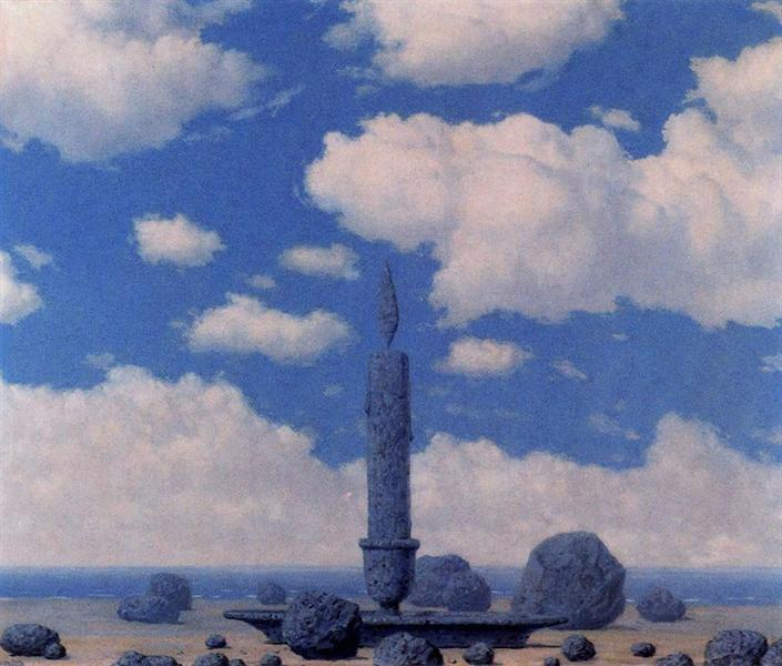 Souvenir from travels, 1962 - Rene Magritte