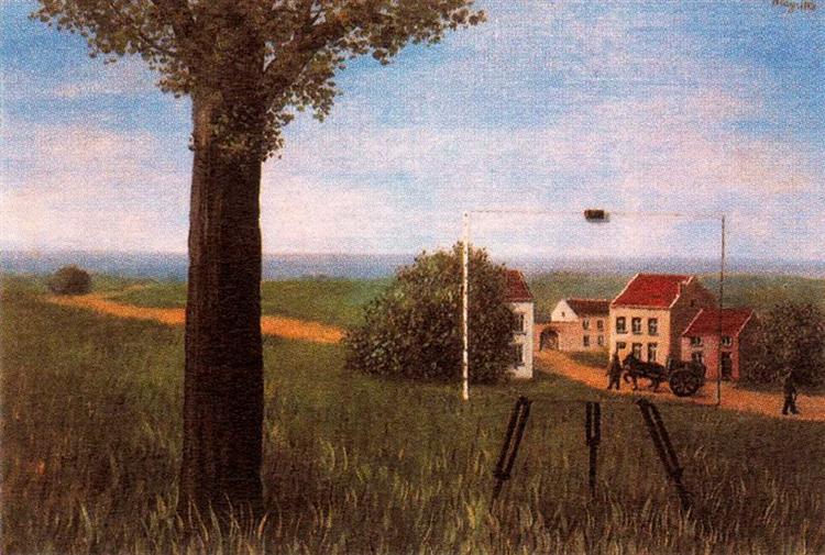 The fair captive, 1931 - Rene Magritte