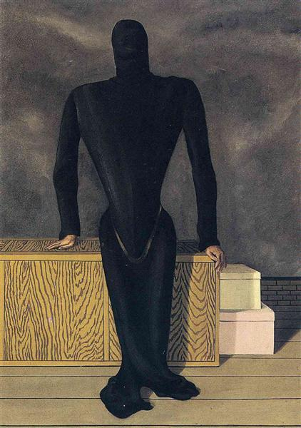 The female thief, 1927 - Rene Magritte