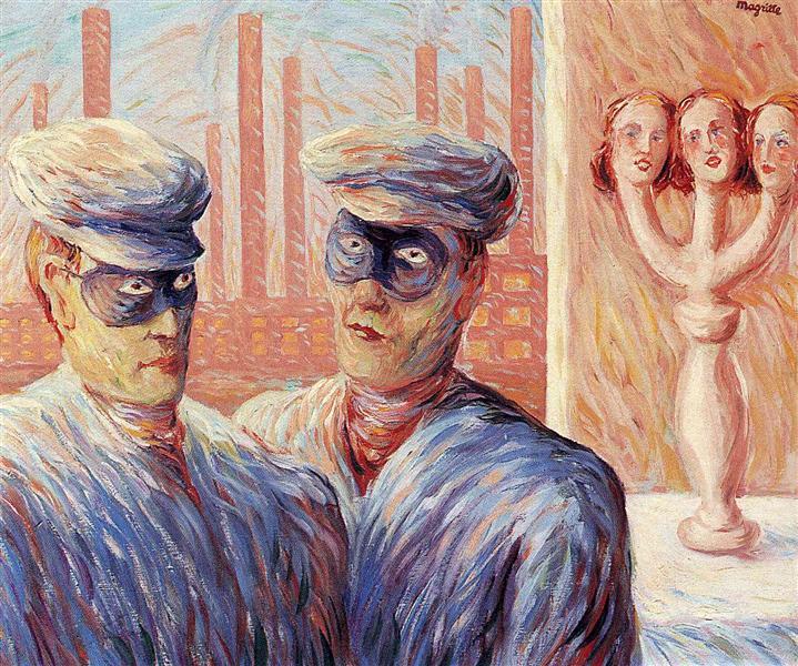 The Intelligence, 1946 - Rene Magritte