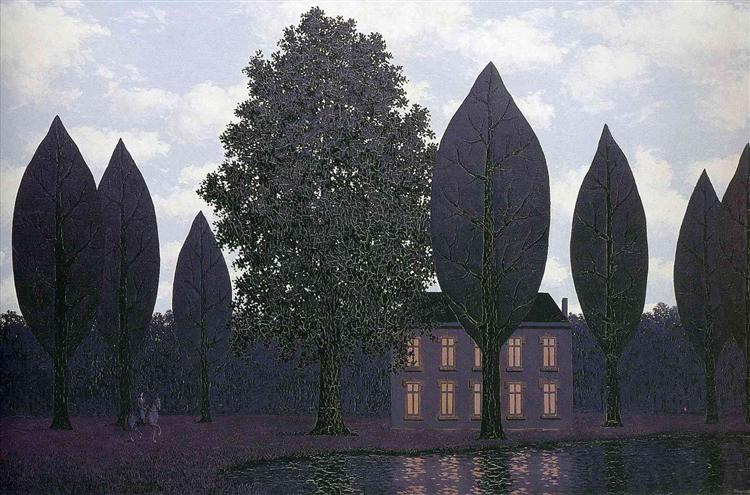 The mysterious barricades, 1961 - René Magritte