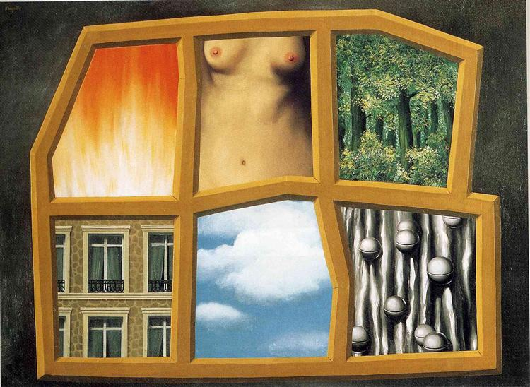 The six elements, 1928 - Rene Magritte