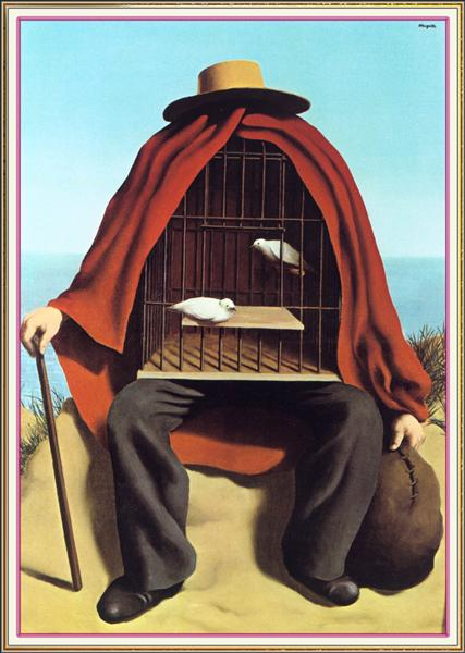The therapeutist, 1937 - Rene Magritte