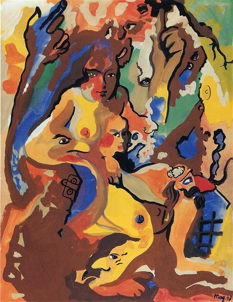 Titania, 1948 - Rene Magritte