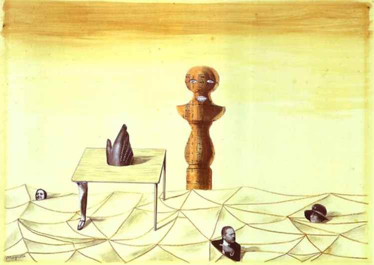 Untitled, 1926 - Rene Magritte