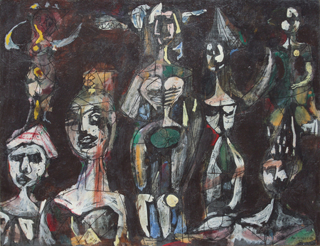 Carnival Figures, 1952 - Rene Portocarrero