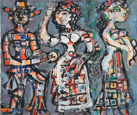 Carnival Figures, 1956 - Rene Portocarrero